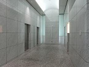 1階エントランス右手奥にエレベーターがあります。