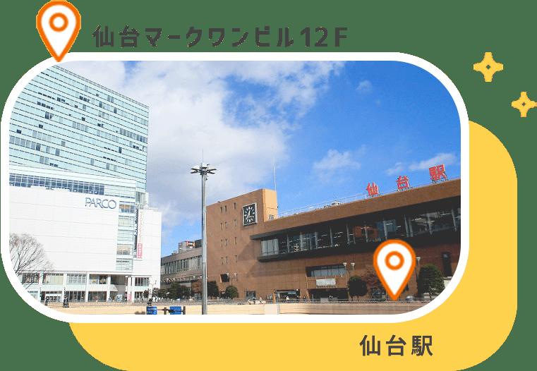 仙台駅 仙台マークワンビル12F